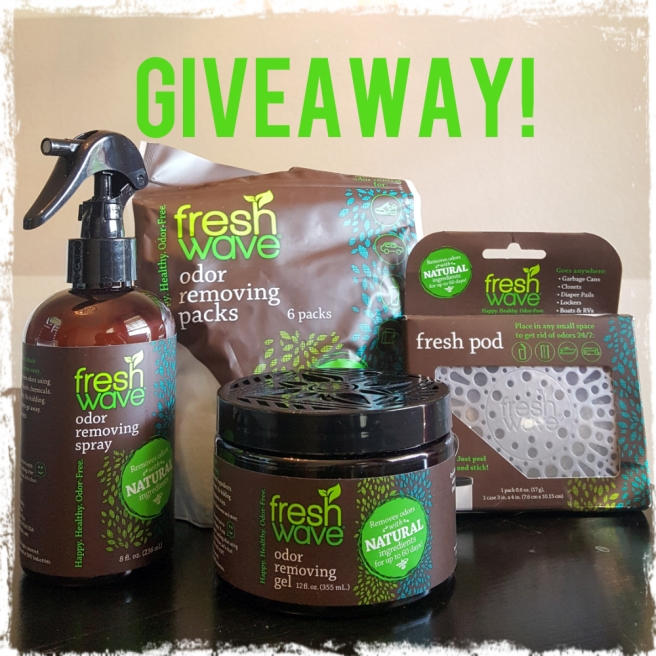 Fresh Wave Giveaway | sharonisamom.com